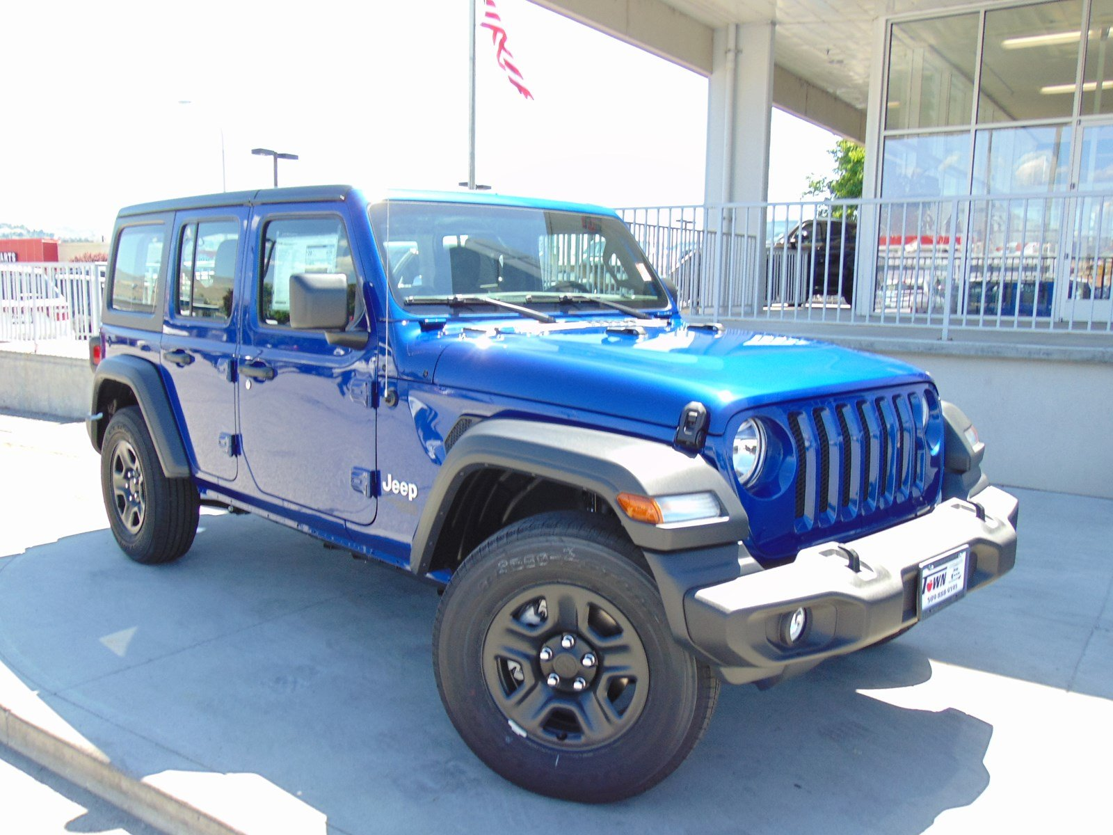 Certified Pre Owned 2018 Jeep Wrangler Unlimited Sport Convertible