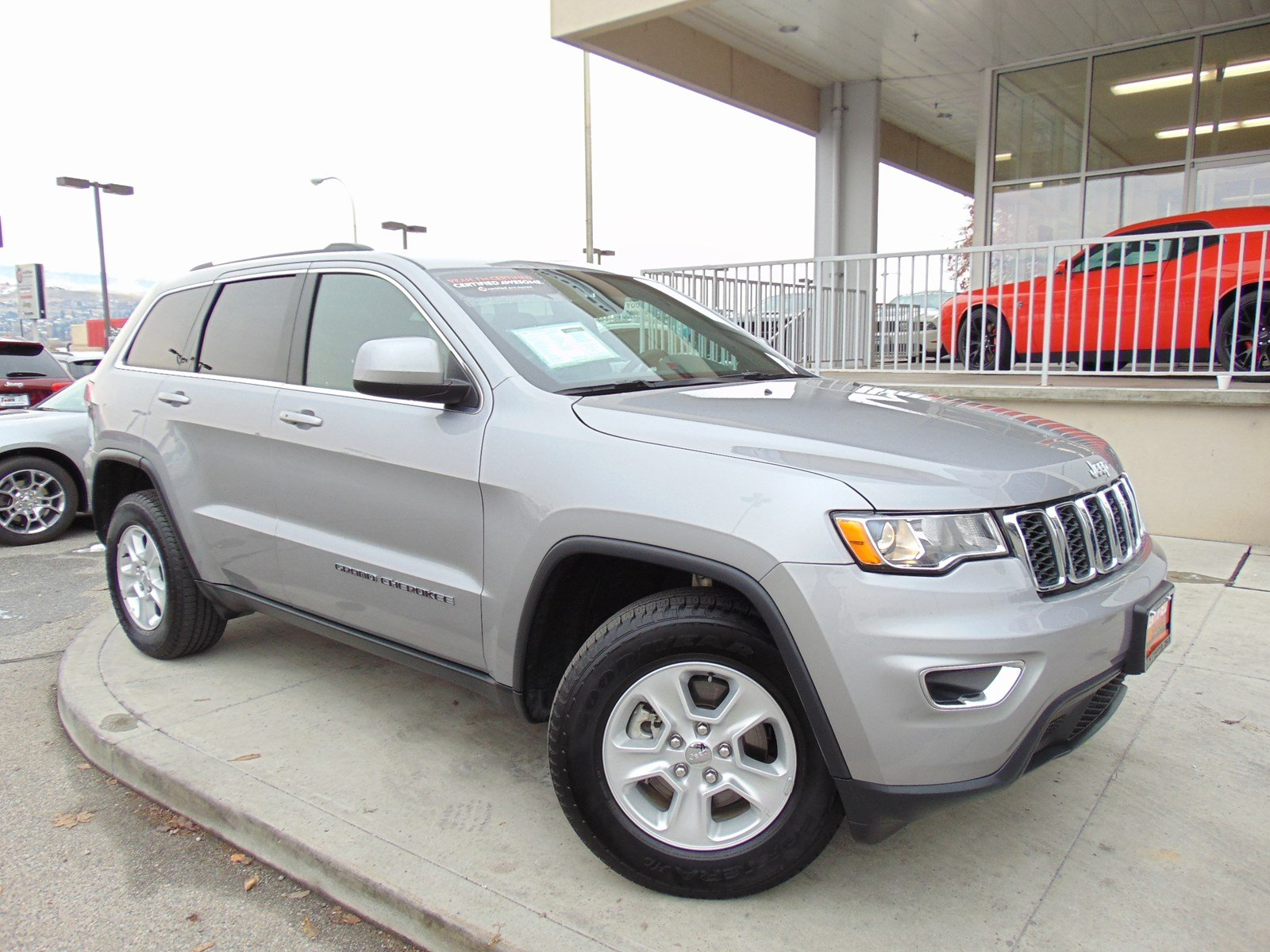 Captivating Certified Pre Owned 2017 Jeep Grand Cherokee Laredo