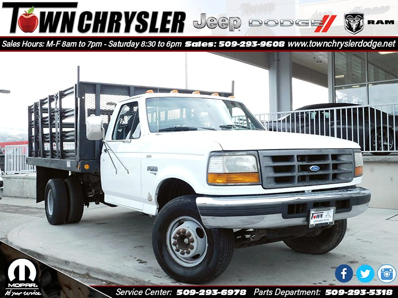Pre-Owned 1997 Ford F-Super Duty Chassis Cab